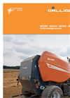 Model GF325 - High Performance Fixed Chamber Baler Brochure
