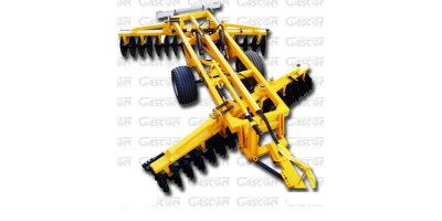 EOS - Model RCHV Series - V-Shape Hydraulic Folding Disc Harrows