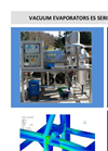 C&G - Model ES Series - Vacuum Evaporators - Brochure