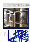 C&G - Model ME Series - Vacuum Evaporators - Brochure