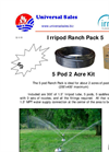 Irripod Ranch Pack 5 Brochure