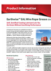 Earthwise EAL 3353 Wire Rope Grease Brochure