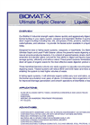 Model BioMat-X - Ultimate Septic Tank Cleaner- Leach Field Cleaner Brochure