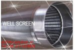 Xinxiang - Tainless Steel Johnson V Wire Well Screen