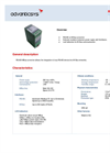 RS485 - M-Bus Converters - Data Sheet