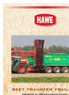 Model RUW - Sugar Beet Field Transfer Trailers Brochure