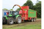 Model SUW - Silage Field Transfer Trailers