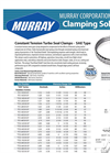 Constant Tension Turbo Seal Clamps-Brochure