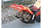 SARG - Model 42 & 42B/G - Sweep Action Rock Grapple for Mini Skid Steer
