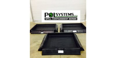 POL - Drip Berms for Secondary Spill Containment of Hazardous Materials