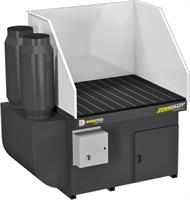 DiversiTech - Model DD 3x4 - Downdraft Tables with Automatic Reverse Pulse Self Cleaning Systems