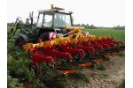 ZIBO - Model Type SB02 - Hoeing and Ridging Machine