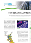 Outdoor Air Quality Testing- Brochure