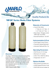 Marlo - Model MFGE Series - Media Filter Systems - Brochure