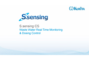 S.sensing CS – Waste Water Real Time Monitoring & Dosing Control