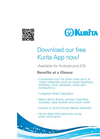 Kurita Free App for iOS and Android Flyer