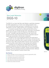 Model DGS-10 - Gas Leak Detector - Brochure