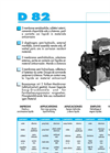 Model DB 82 - Two Diaphragm Semi-Hydraulic Pump Brochure