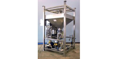 Aslan - Model DF Series - Selfcontained, Fully Automatic Dry Polymer Batch Makedown System