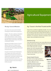 Agricultural Equipment Recruiting Brochure