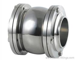 Adamant Valves - Model AV-3F - Sanitary 3 Piece Flange Check Valves