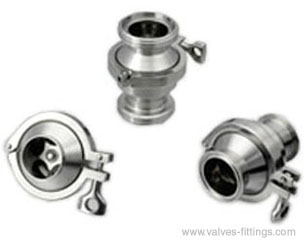Adamant Valves - Model AV-3W - Sanitary Check Valves with Butt-weld Ends