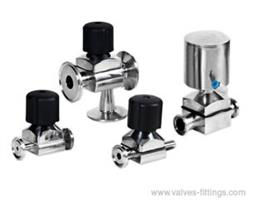 Adamant Valves - Model AV-4MI - Sanitary Mini Diaphragm Valves