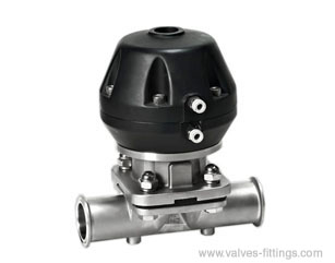 Adamant Valves - Model AV-4P - Sanitary Pneumatic Diaphragm Valves