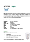 AMSA BCP™  Classic DTEA II™  - Multi-Purpose Chemical Liquid - Datasheet
