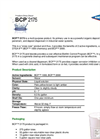 AMSA BCP™  - Model 2175 - Cleaning Fouled Systems - Datasheet