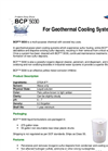 AMSA BCP™ 5030 - Geothermal Cooling Systems - Product Data Sheet