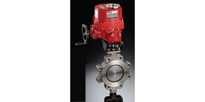 Model Series 30 - 3-way Mount Automated Ball Valve