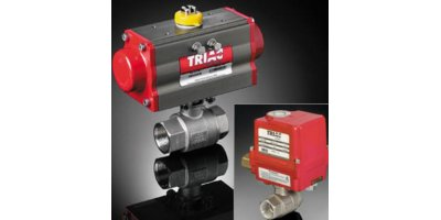 Triac - Model 22 Series  - 2-Piece Direct Mount Automated Ball Valve