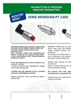 MERIDIAN - Model PT1200 series - Pressure Transmitters Brochure