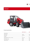 Weidemann - Model 2070 CX LPT - Telescopic Wheel Loader - Brochure