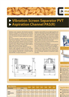 Model PVT - Vibration Screen Separator Brochure