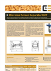 Model KUT - Vibration Screen Separator Brochure