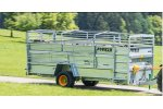 BETIMAX  - Model RDS - Lowered Single or Double Axle Livestock Trailer