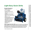 Model LDGD - Light Duty Grain Drill Brochure
