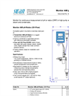 Monitor AMI pH-Redox; QV-Flow Datasheet