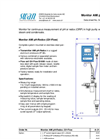 Model AMI pH-Redox-QV-Flow - pH Monitor- Brochure