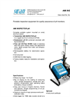 AMI INSPECTOR - Portable pH Monitor Brochure