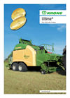 Ultima - Non-Stop Bale Wrapper- Brochure