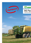 BigPack - High Speed Large Square Balers- Brochure