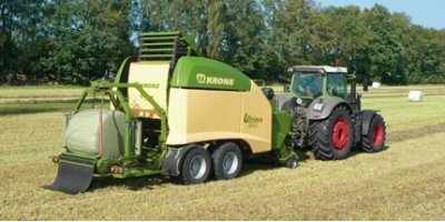 Ultima - Non-Stop Bale Wrapper