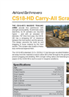 Model CS18-HD - Dump Style Scraper Brochure