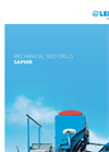 Saphir - Model 8 - Electric Seed Drill Brochure