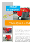 V - Mix agilo - Model 3.5 to 5 - Single-Auger Mixer Brochure