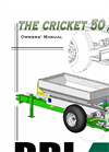 Cricket Vineyard Spreader - 00CV Brochure