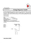 Model Fast05 - Voltage Regulator- Brochure